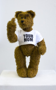 Ed Young_The Friction in my Jeans_2015_South African Mohair Traditional Teddy Bear_62cm_LR (1)