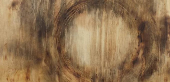 Izak Johannes Matthys Buys, 'Creating / destroying a palimpsest', 2014, Pyrography, wood, 67 x 122 cm.